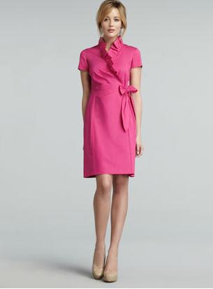 Lafayette 148 Pink Dress