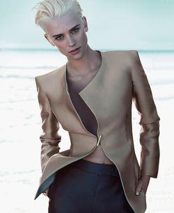 Armani Jacket Spring Ad Campaign