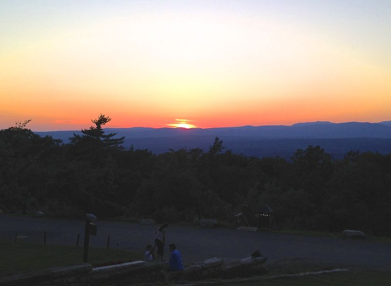 Mohonk4 sunset