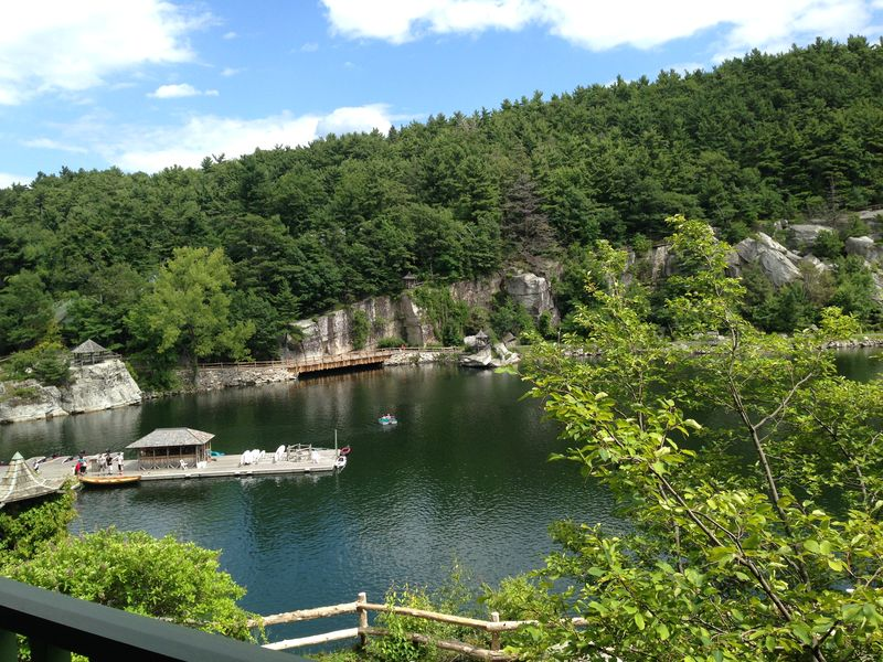 Mohonk2 balcony view