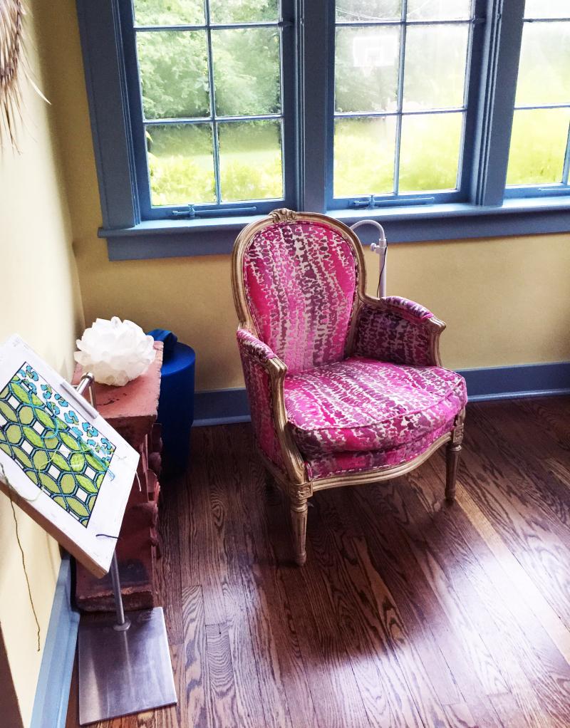 Needlepointchair