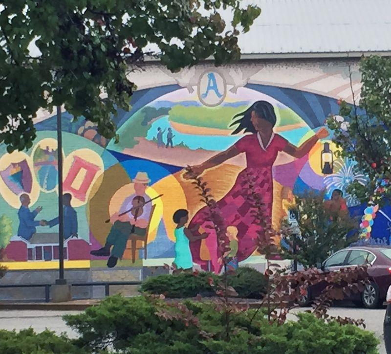 Wall mural arkadelphia