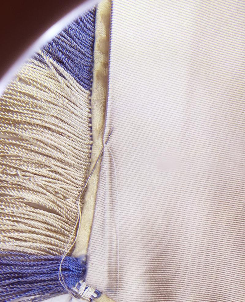 Banner stitching