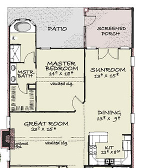 Floor plan subset