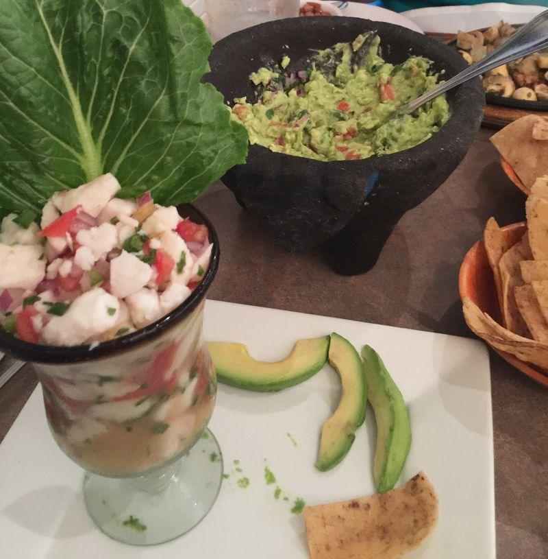 Ceviche lunch