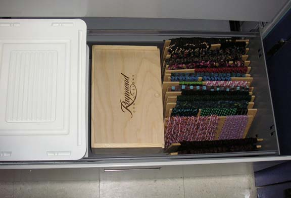 STORAGE CABINET FOR EMBROIDERY FLOSS